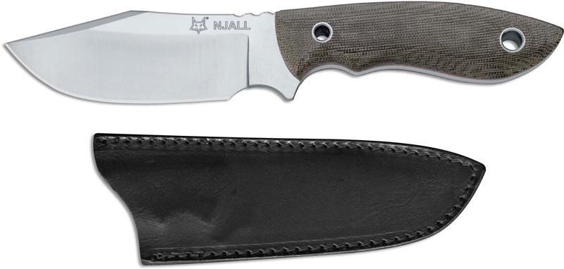 Fox Knives Vox Njall Fx 511 Knife Jesper Voxnaes Clip