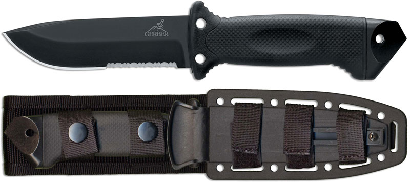 Gerber Knives Gerber Lmf Ii Knife Black Infantry Gb 1629