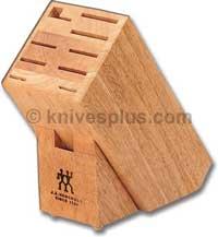 Henckels Knife Block, 10 Slot Hardwood, HE-100923