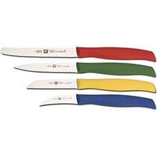 Henckels Knives Henckels TwinGrip 4 Piece Paring Knife Set, HE-94000