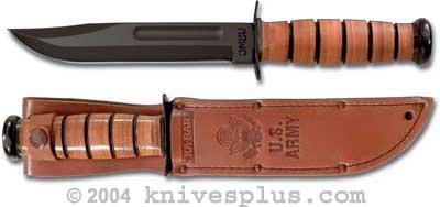 Ka 1220 Ka Bar Fighting Utility Knife Army