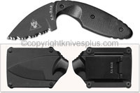 KA-BAR Knives KABAR TDI Law Enforcement Knife, Serrated, KA-1481