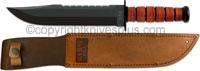 KABAR Big Brother Knife, Leather, KA-2217