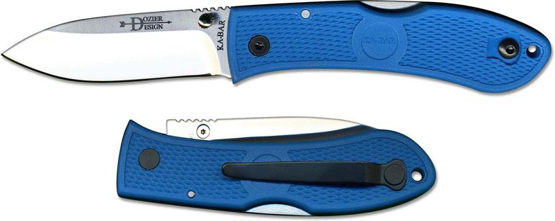 Kabar Dozier Folding Hunter Blue Ka 4062bl