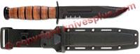 KA-BAR Knives KABAR US Army Fighting-Utility Knife with Synthetic Sheath, KA-5019