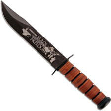KA-BAR Knives KA-BAR Iraqi Freedom Knife USMC, KA-9128