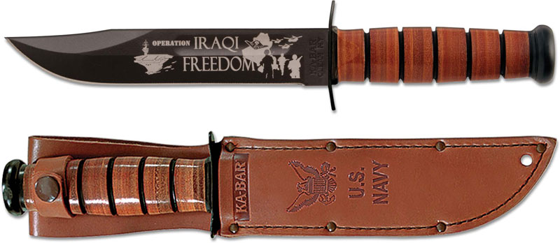 Kabar 9131 Us Navy Iraqi Freedom Commemorative Knife
