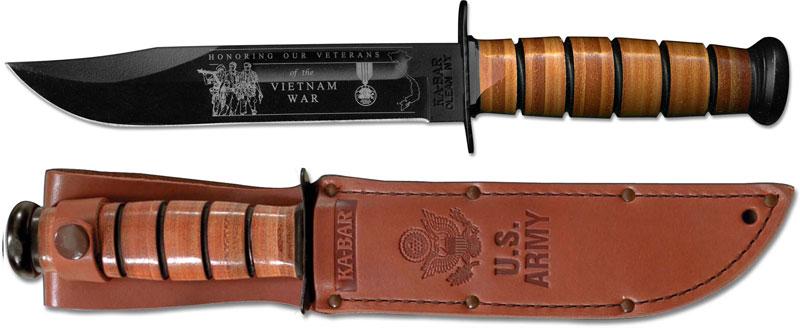 Ka Bar Knives Kabar Vietnam Commemorative Knife Us Army