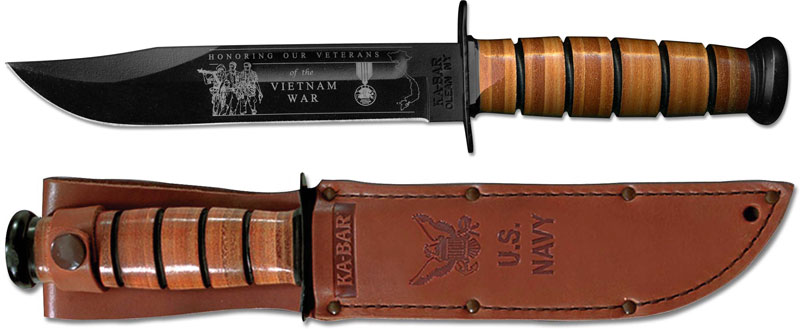 Ka Bar Knives Kabar Vietnam Commemorative Knife Us Navy