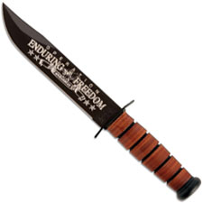 KABAR 9168 US Army OEF Afghanistan Commemorative Knife