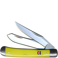 Robert Klaas Trapper Knife, Yellow, KC-3211
