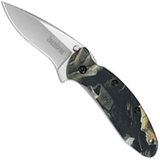 Kershaw Scallion, Camo Aluminum, KE-1620C