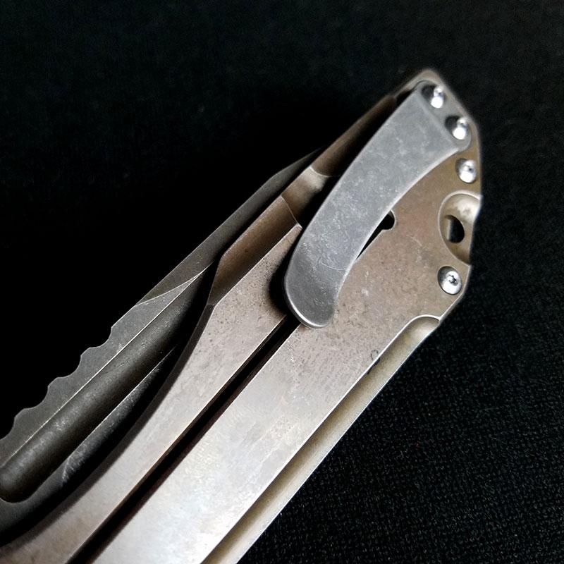 Modified Boker Plus Lateralus Steel Jb Stout Heat