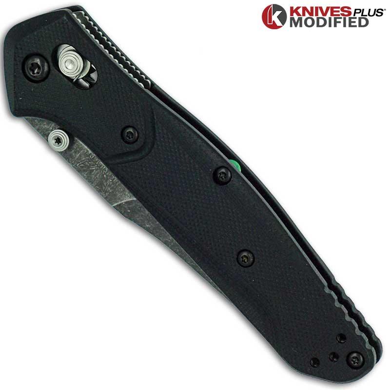 Modified Benchmade 940 2 Osborne Knife Acid Stonewash