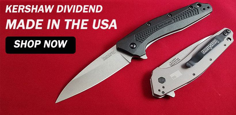 Kershaw Dividend Assisted Flipper Knife