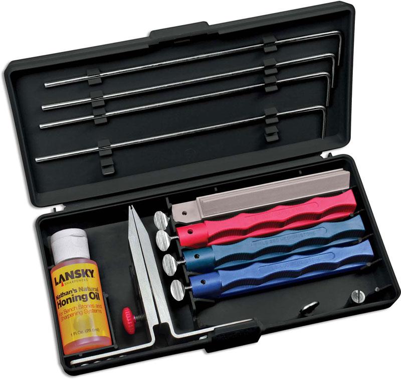 Lansky Knife Sharpener Universal Sharpening System Lk Lkunv