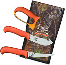 Outdoor Edge Blaze n Bone Knife Combo, OE-BN2C