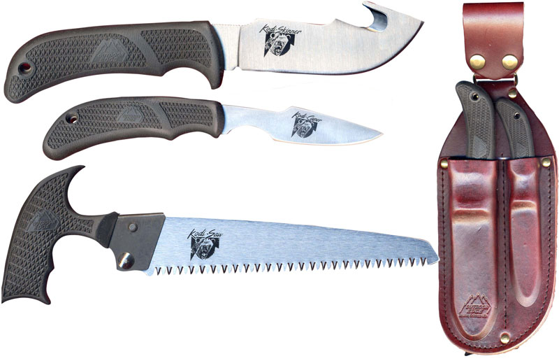 Outdoor Edge Kodi Pak Knife And Saw Set Oe Kp1