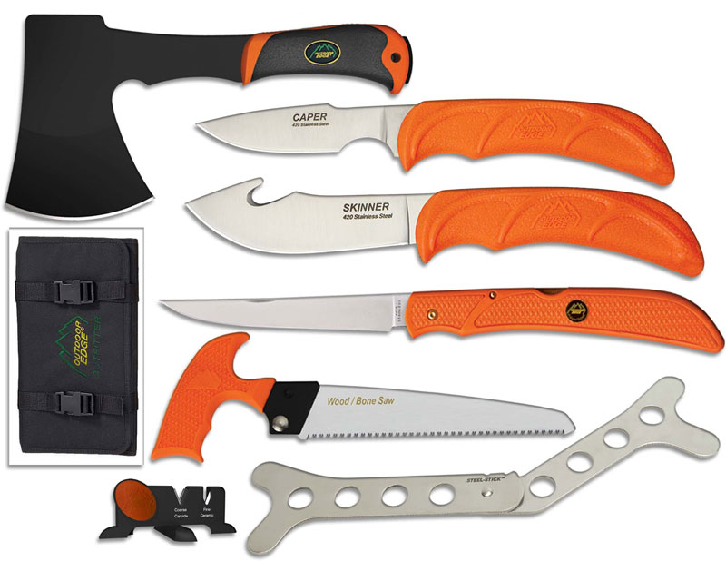 Outdoor Edge Outfitter Knife Combo Oe Of1