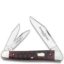 Queen Knives Schatt & Morgan Series XVII 2007 Dogleg Whittler, QN-043154