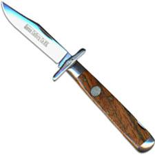 Queen Swing Guard Lock Blade, Curly Zebra Wood, QN-1LCZ