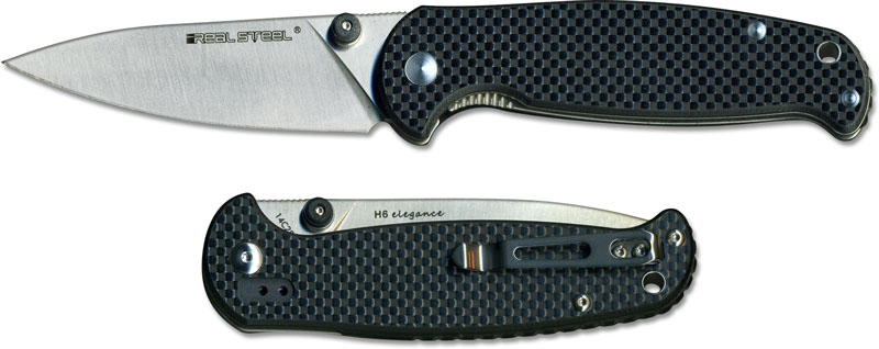 Real Steel 7611 H6 Elegance Edc Liner Lock Folding Knife