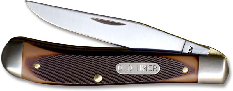 Old Timer Knives Gunstock Trapper Lockblade Old Timer
