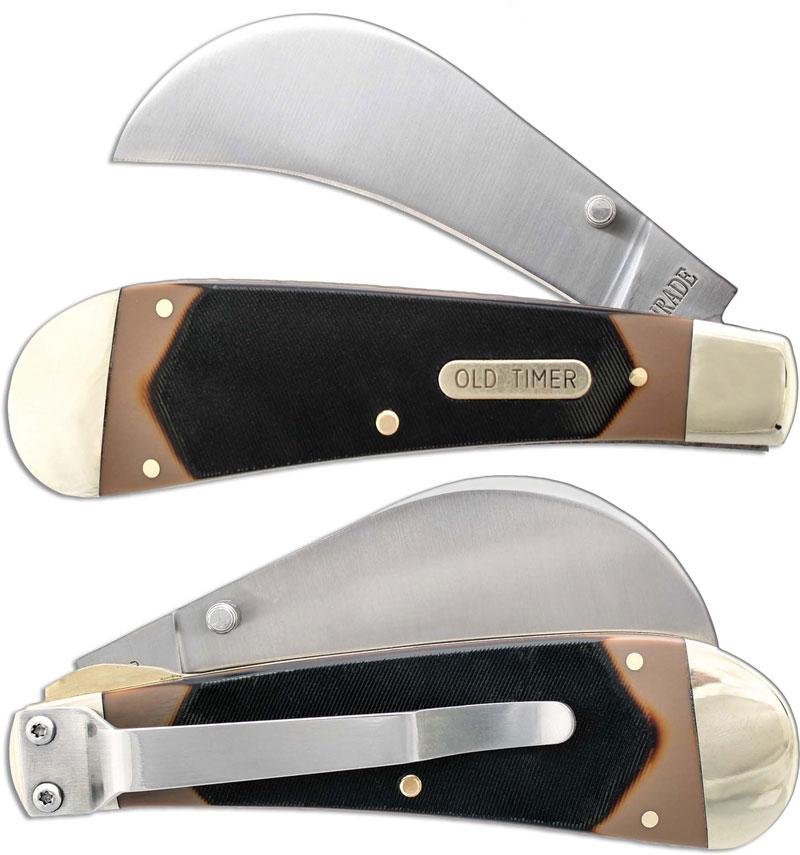 Hawkbill Pruner Lockblade Old Timer Knife Sc 216ot