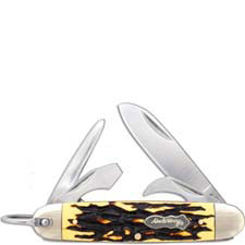 Uncle Henry Scout Knife 23UH Pocket Knife 5 Tools Staglon Handle with Bail