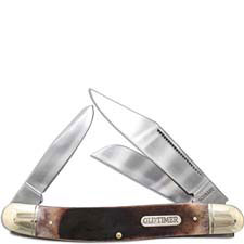 Lumberjack Old Timer Knife, Saw Cut Bone, SC-858OTB