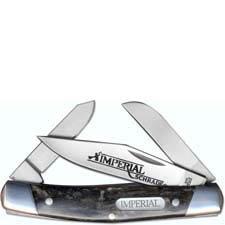 Schrade Imperial Medium Stockman, Dark Swirl, SC-IMP16S