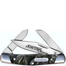 Schrade Imperial Medium Stockman, Olive Swirl, SC-IMP17S