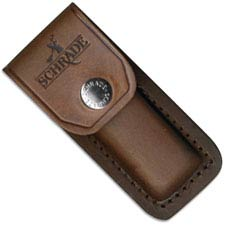 Schrade Knives Schrade Leather Sheath Only, Fits LB5, SC-LS1