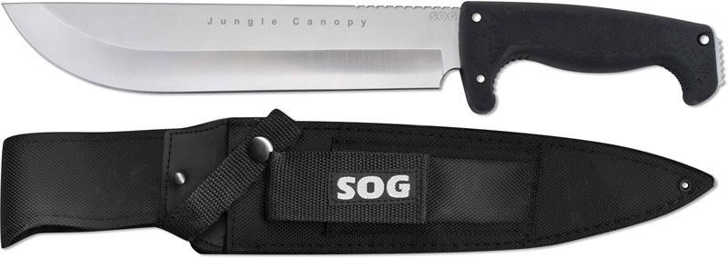 SOG Knives SOG Jungle Canopy Knife SG-F15N & Knives: SOG Jungle Canopy Knife SG-F15N