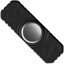 Stedemon Z01BLC Hand Spinner Fidget Toy Stress Reliever Black Anodized Titanium