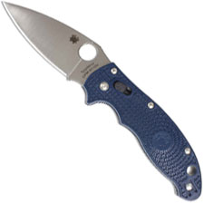 Spyderco Manix2 Knife, Dark Blue CPMS110V, SP-C101PDBL2