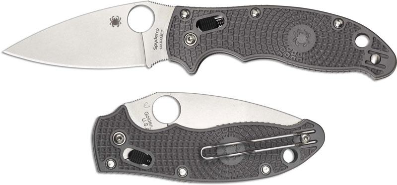 Spyderco Manix 2 Lightweight, CTS Maxamet Steel Blade, C101PGY2