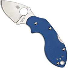 Spyderco Limited Lava Knife, Blue G10, SP-C110GPBL - Discontinued Item – Serial # - BNIB