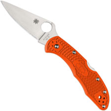 Spyderco Delica 4 Lightweight, Orange, SP-C11FPOR