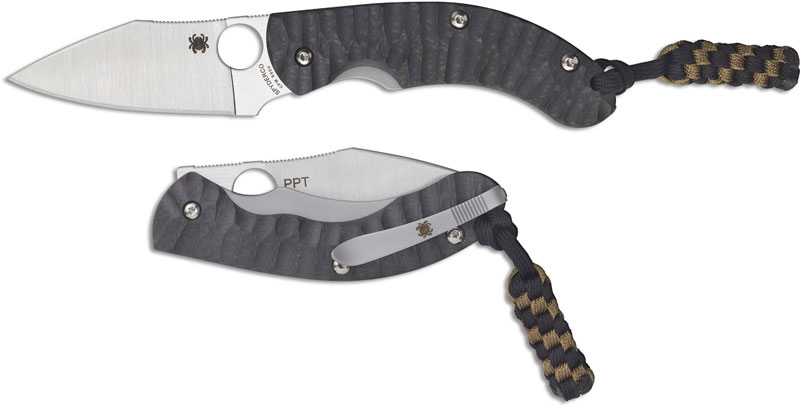 spyderco ppt knife c135cfp 2018 sprint run modified wharncliffe with
