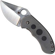 Spyderco Burch Chubby, SP-C183TIP - Discontinued Item – Serial # - BNIB