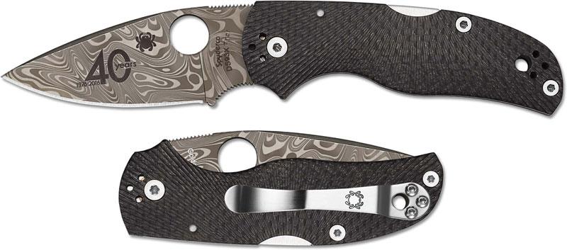 Spyderco Native 5 40th Anniversary Knife Sp C41cf40th