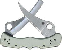 Spyderco Limited Dyad Knife, Gray G10, SP-C44GPSGY - Discontinued Item – Serial # - BNIB