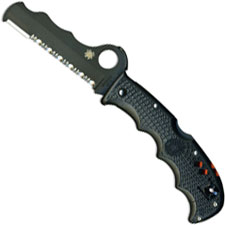Spyderco Assist Knife, Black Blade, SP-C79PSBBK