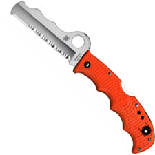 Spyderco Knives Spyderco Assist Knife with Carbide Tip, Orange, SP-C79PSOR