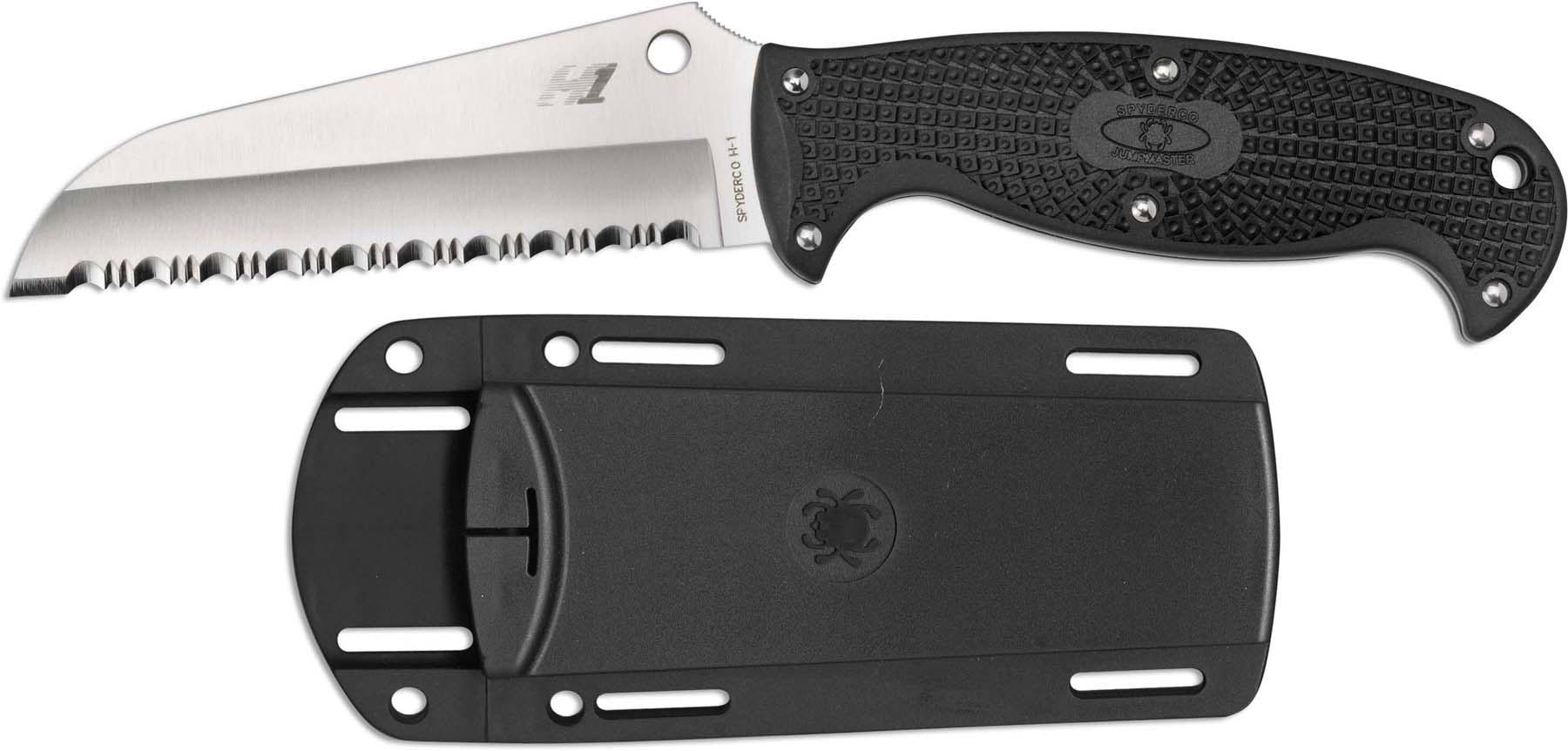 Spyderco Knives Spyderco Jumpmaster Knife Sp Fb24sbk