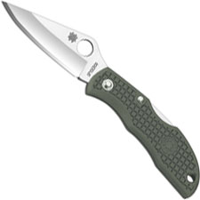 Spyderco Knives Spyderco Ladybug 3 Knife, Foliage Green, SP-LFGP3
