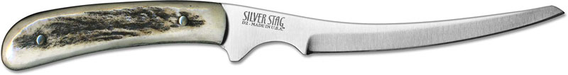 Silver Stag Fg425 Fish And Gamer D2 Upswept Fixed Blade