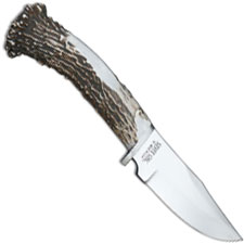 Silver Stag Field Pro Knife, Antler Crown, SS-FP45