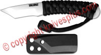 TALONZ Ceramic Neck Knife, Tanto, TZ-2